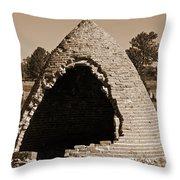 Graveyard Dome Throw Pillow