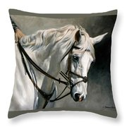 Gray Throw Pillow