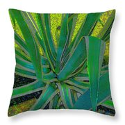 Great Agave Throw Pillow