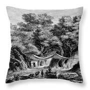 Great Chestnut Tree Throw Pillow