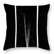 Great Comet Of 1861 Throw Pillow