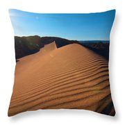 Great Dune - Valle De La Luna - Atacama Desert Throw Pillow