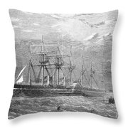 Great Eastern, 1860 Throw Pillow