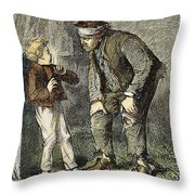 Great Expectations Throw Pillow