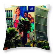 Great In Advertising In La Throw Pillow