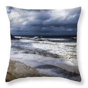 Great Ocean Road V11 Throw Pillow