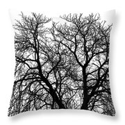 Great Old Tree Throw Pillow