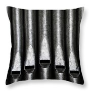 Great Set Of Pipes Throw Pillow