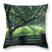 Great Smoky Mountain Sunrise Throw Pillow