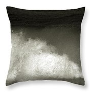 Great Wave For Surfers Throw Pillow