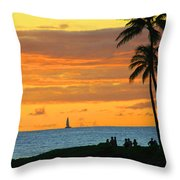 Greatest Show On Earth Throw Pillow by Dana Kern