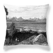 Greece: Levkas, 1832 Throw Pillow