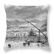 Greece: Salonika, 1876 Throw Pillow by Granger
