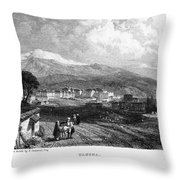 Greece: Yanina, 1833 Throw Pillow by Granger