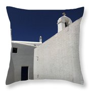 Greek Architecture Mykonos 2 Throw Pillow