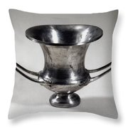 Greek Drinking Cup Throw Pillow