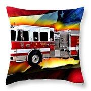 Green Bay Engine 411 Throw Pillow