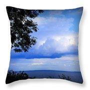 Green Bay Water View Throw Pillow