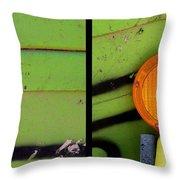 Green Bein' Throw Pillow