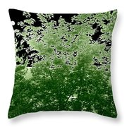 Green Is My Valley Throw Pillow