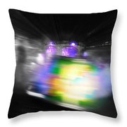 Green Manalishi Throw Pillow