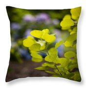 Leaves Illumination Throw Pillow