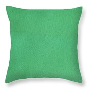 Green Textile Throw Pillow