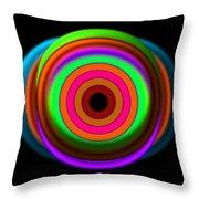 Green Watch Throw Pillow