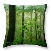 Greener Than Green Throw Pillow