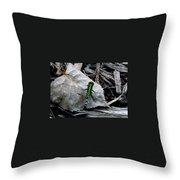Greenie Throw Pillow