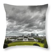 Greenwich And Docklands Hdr Throw Pillow