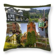 Greenwood Collage With Geppetto Throw Pillow