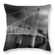 Greig Street Bridge Throw Pillow
