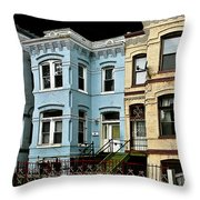 Greystones Of Color Throw Pillow