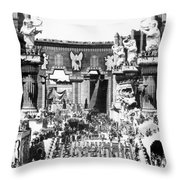 Griffith: Intolerance 1916 Throw Pillow