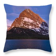 Grinnel Point At First Light Throw Pillow