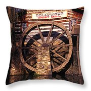 Grist Mill In The Smokies Throw Pillow