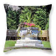 Grounds Throw Pillow