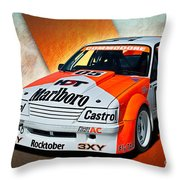 Group C Vk Commodore Throw Pillow