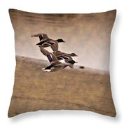 Grouping V1 Throw Pillow