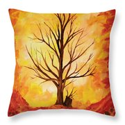 Growing Again Throw Pillow