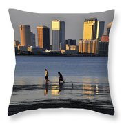 Growing Up Tampa Bay Throw Pillow