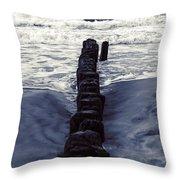 Groyne Throw Pillow