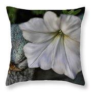 Grundgy Petunia Throw Pillow