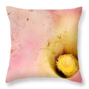 Grunge Calla Lilly Throw Pillow by Darren Fisher