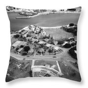 Guantanamo Bay Naval Base Throw Pillow