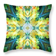 Guardian Angel Of The Home Throw Pillow