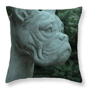 Guardian Boxer Throw Pillow