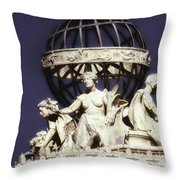 Guardians Of The Law Throw Pillow