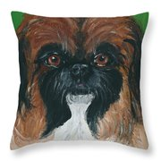 Gucci The Peke Throw Pillow